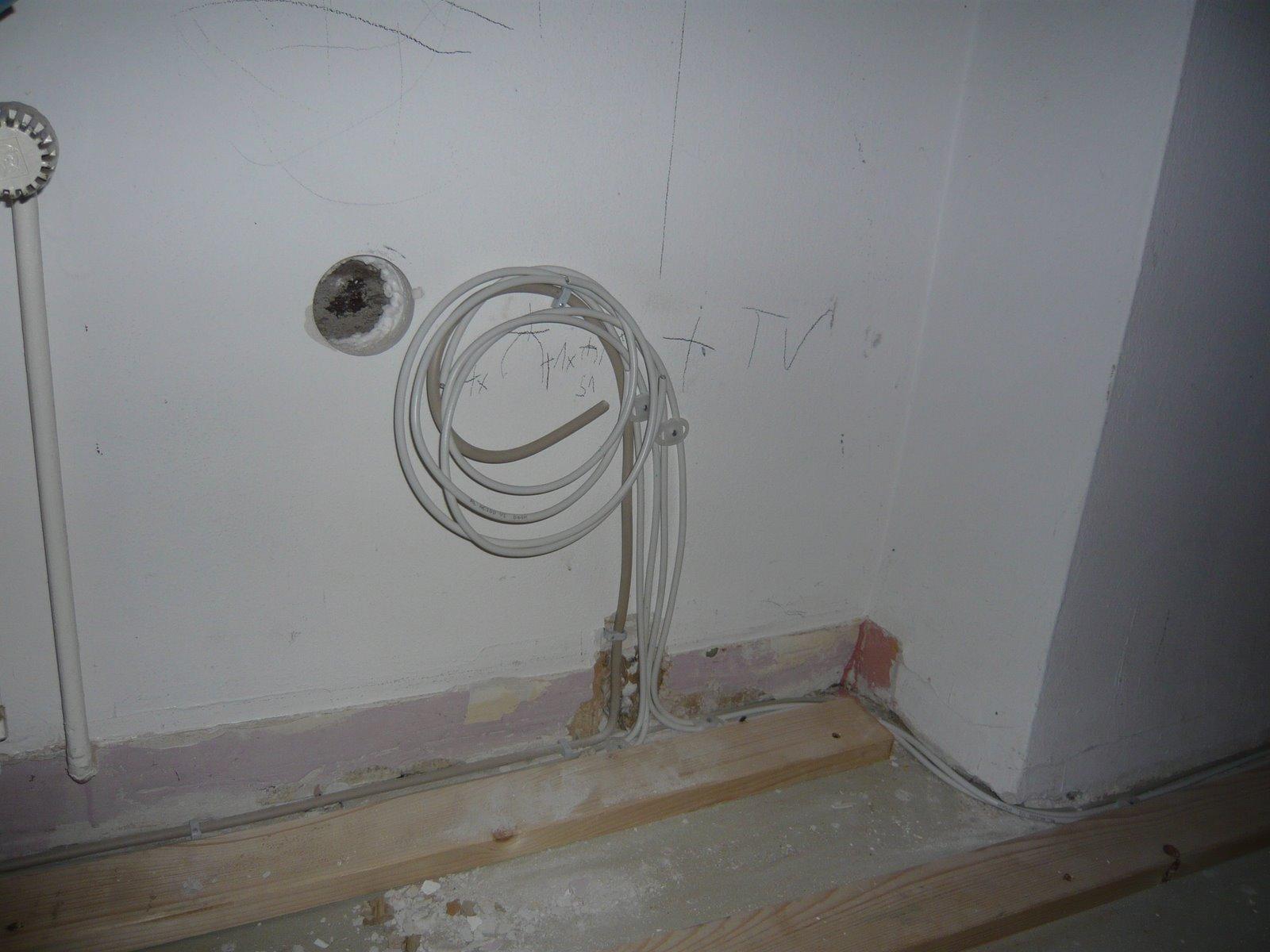 Kabel Im Fußboden Verlegen ~ Mopsis baublog: wunder geschehen die elektrik kommt