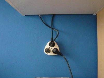 mopsis baublog mikrowelle angeschlossen. Black Bedroom Furniture Sets. Home Design Ideas
