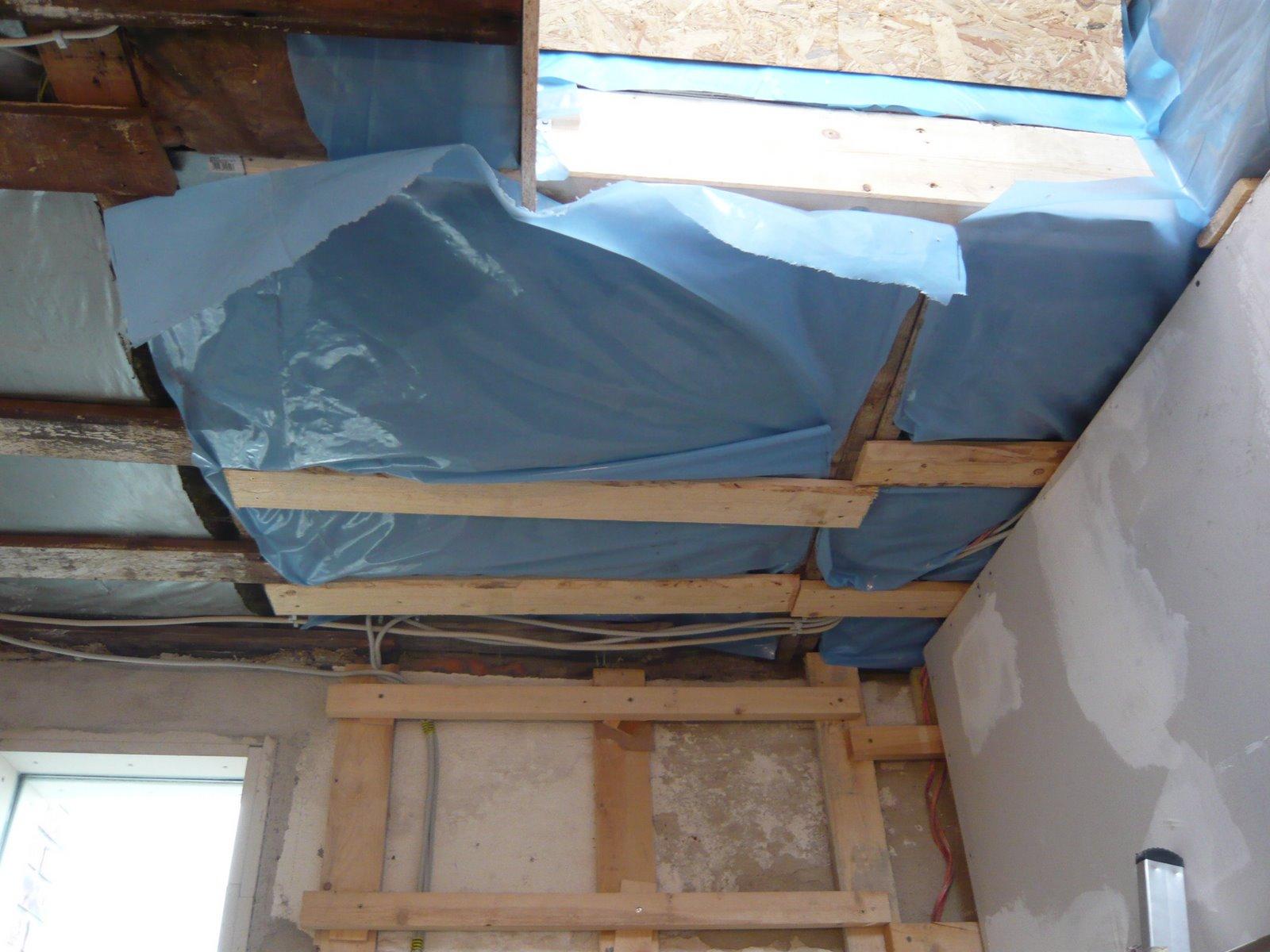 mopsis baublog d mmung in die decke. Black Bedroom Furniture Sets. Home Design Ideas